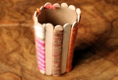 Craft Stick Pencil Holder