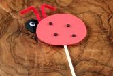 Foam Planter Ladybug