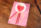Heart Ribbon Card