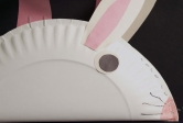 Paper Plate Bunny Basket