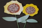 Paper Plate Sunflower
