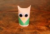 Paper Tube Owl