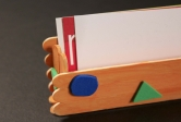 Craft Stick Card Holder
