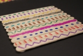Craft Stick Coaster