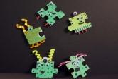 Puzzle Piece Alien