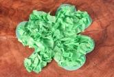 Tissue Paper Shamrock