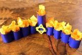 Tube Menorah